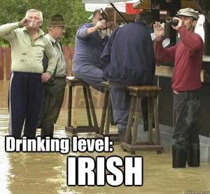 irish drunk