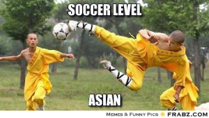 soccer level asian